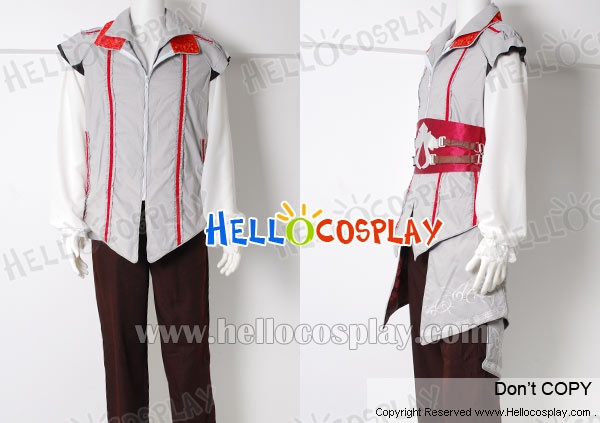 Assassin's Creed Outfit | Assassin's Creed II 2 Cosplay Ezio Costume - £127.24 : Cosplay UK ...