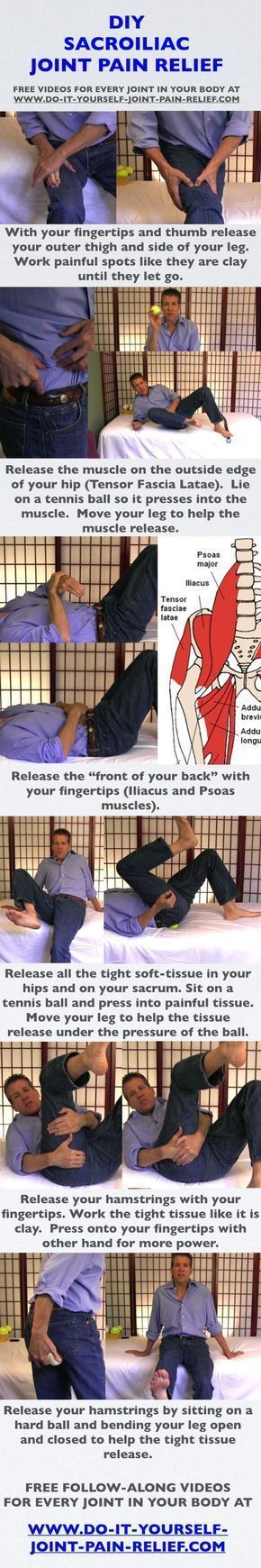 12 best diy joint pain relief images on pinterest massage if youre in pain start here 10 exercises for back and hip pain you should be doing now do this 5 minute exercise when it hurts to stand solutioingenieria Choice Image
