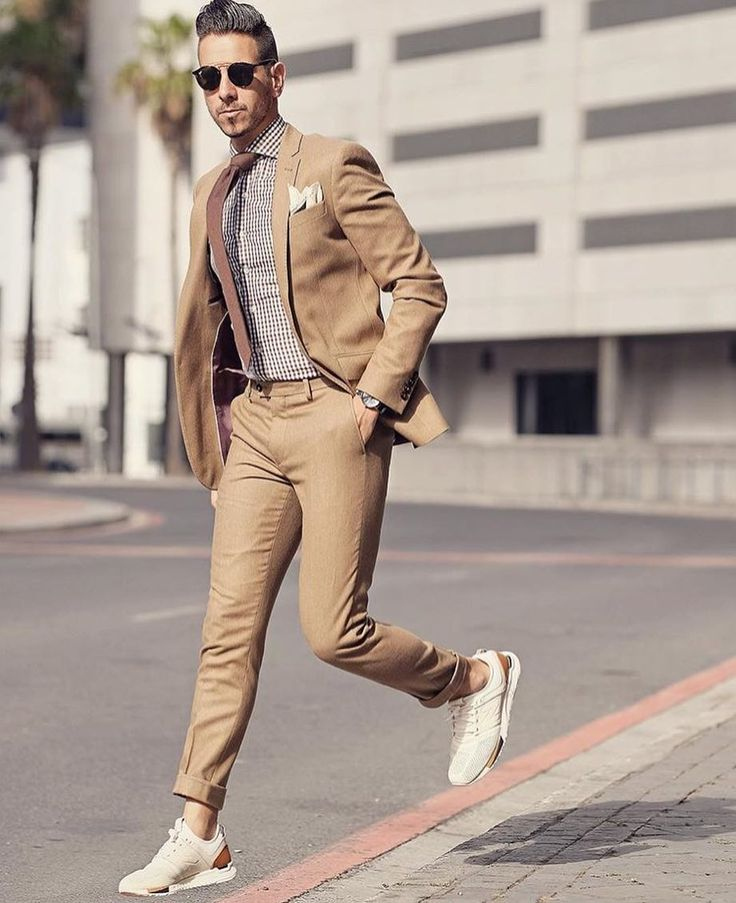 Suits and Sneakers.. What will 2017 bring for men's fashion?   Comment below on what you think about sneakers and suits!