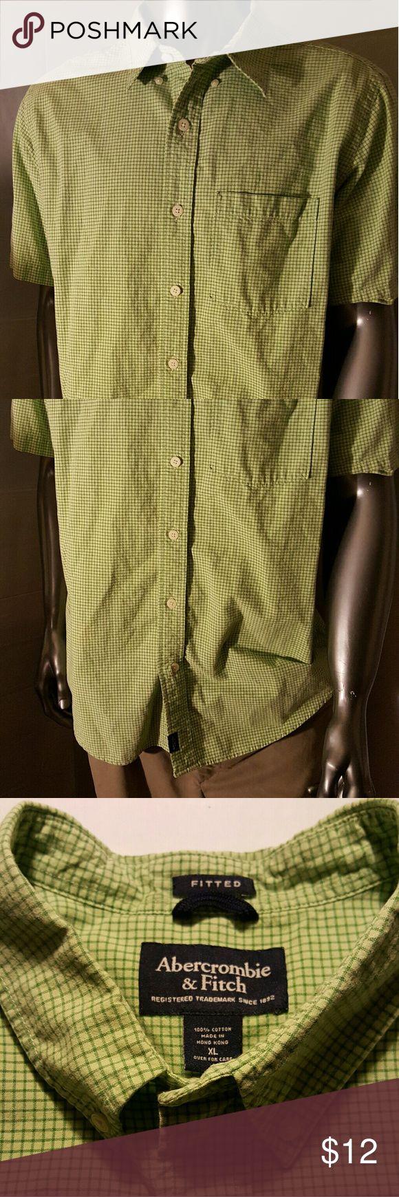 Abercrombie & Fitch Men's  Button  Down  Size XL Abercrombie & Fitch Men's  Button  Down  Size XL Abercrombie & Fitch Shirts Casual Button Down Shirts