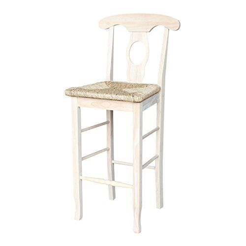 International Concepts S 123 29 Inch Empire Stool Unfini Unfinished 30 Bar Stools Pinterest And Contemporary Furniture