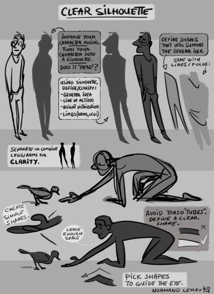 """""""Clear Silhouette"""" 