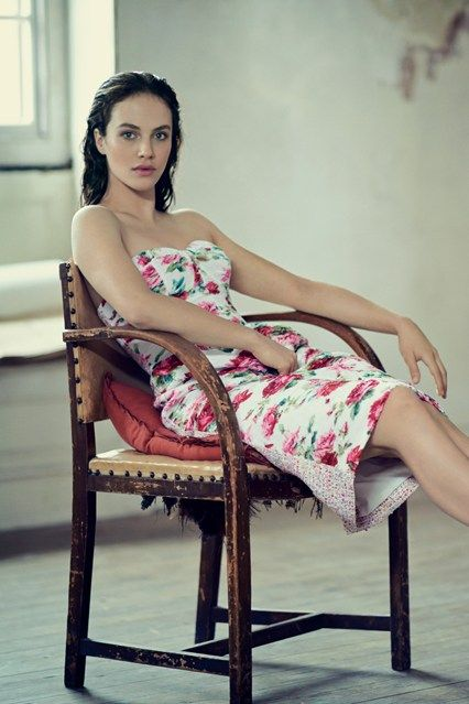 Behind-The-Scenes Filming With Jessica Brown Findlay | British Vogue