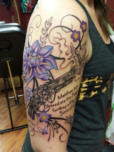 peacemaker gun tattoo mr foust art pinterest gun tattoos tattoos and body art and guns. Black Bedroom Furniture Sets. Home Design Ideas