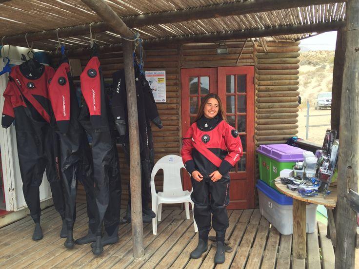 DEMO DRY SUIT WATERPROOF D6.  VERANO 2016 CHILE Iniciando en Playa Blanca