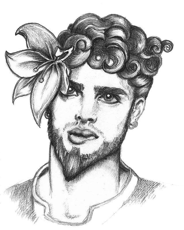 #Avresdesign #illustration #GayArt #Beard
