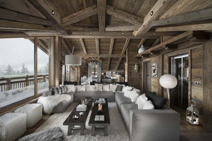 Chalet L'Or Blanc is a stunning property in the centre of Courchevel Village with a chic interior & mountain views. It sleeps 8 (+2) in 5 en-suite bedrooms.
