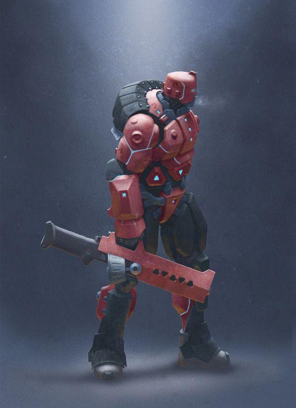 Early Echelon Heavy Infantry by Ray - Nick Smith - CGHUB via PinCG.com