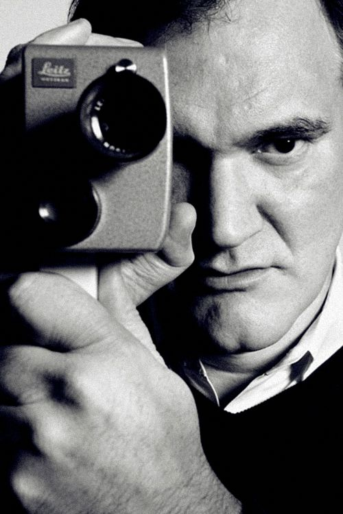 Quentin Tarantino-- the man is pure genius! I made it my mission to watch every single one of his movies