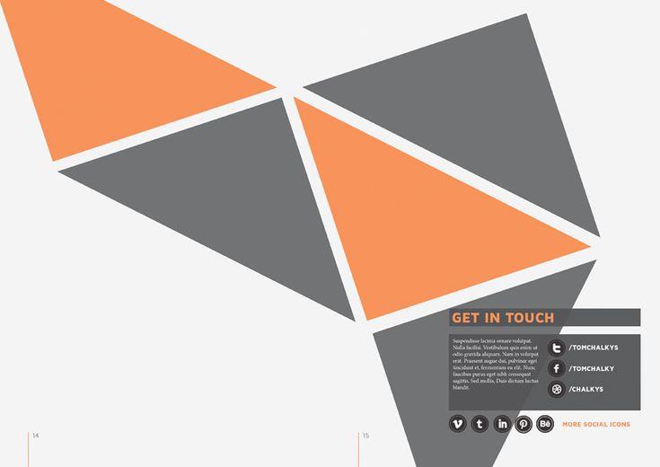 Free inDesign Portfolio template