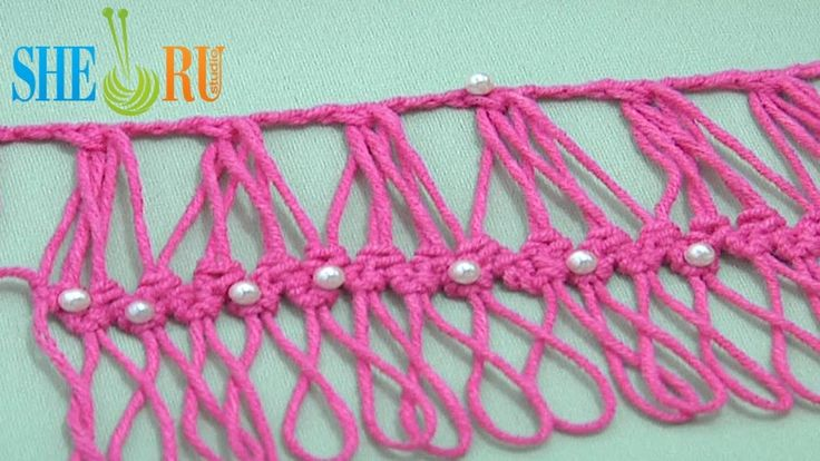 Hairpin Crochet Working Into Group of Loops - Tutorial 27 Developing Basic Braid by Sheruknittingcom