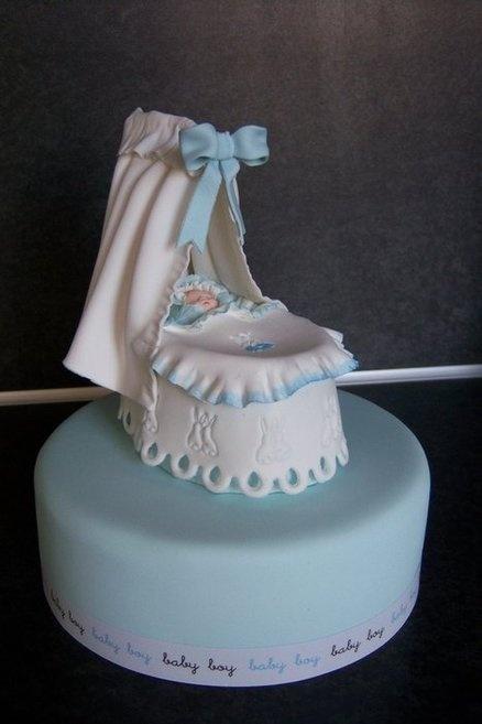 Peter Rabbit baby crib  Cake by Ria123