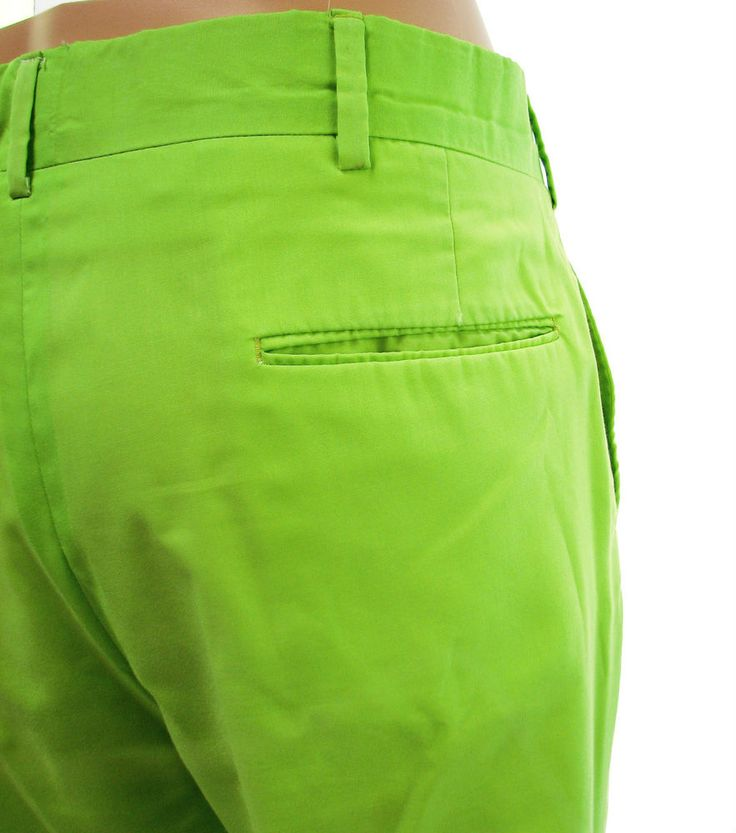 Vintage Lilly Pulitzer Mens Stuff Lime Green Pants Approximate Size 36…