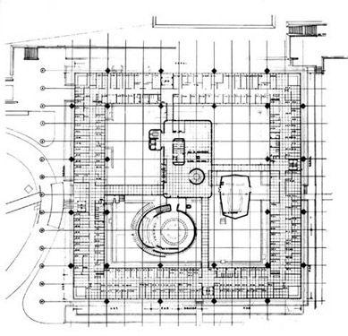 Classical Architecture: Building ECLAC / Emilio Duhart