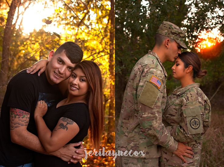 Dual military couples photography, fall photography, Killeen, TX photographer