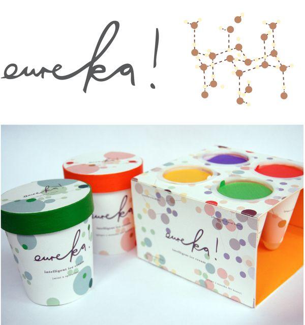 Landor Ice Cream - Eureka! by Helen Wilson, via Behance