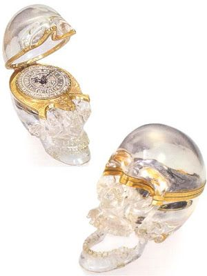 LONDON Watchismo Times: Clearly Evil - Memento Mori Crystal Skull watch from 1715 - Haunted Horology #4