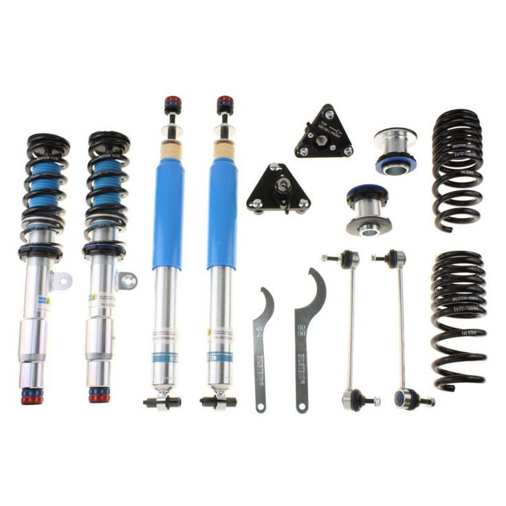 Bilstein Clubsport 2008-2013 BMW M3 V8 4.0L/ 2011 BMW 1 Series M Front & Rear Performance Suspension Complete System Kit (EDC Requires bil50-174546)