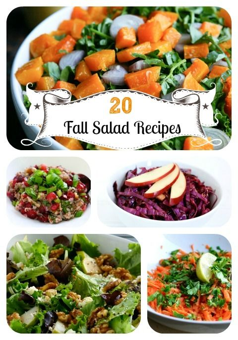 20 Seasonal, Satisfying Fall Salad Recipes