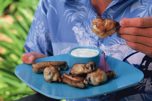If you're hosting a grand final party today, you'll kick the winning goal with these delicious chicken wings.