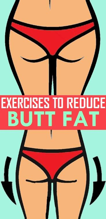 Simple Exercises to Reduce Butt Fat..