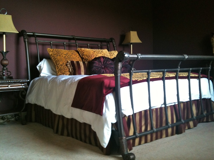 Rod Iron Bed at Rocking J Ranch