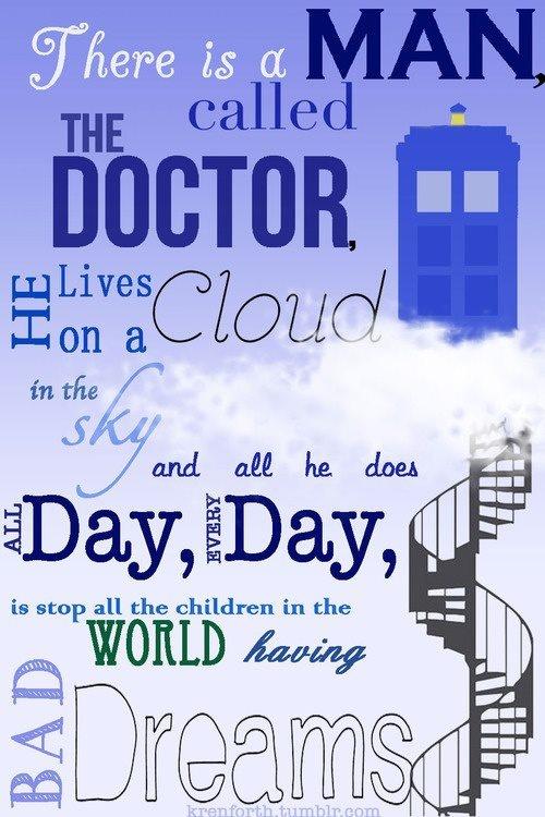Doctor Who Print (Future Nursery?)