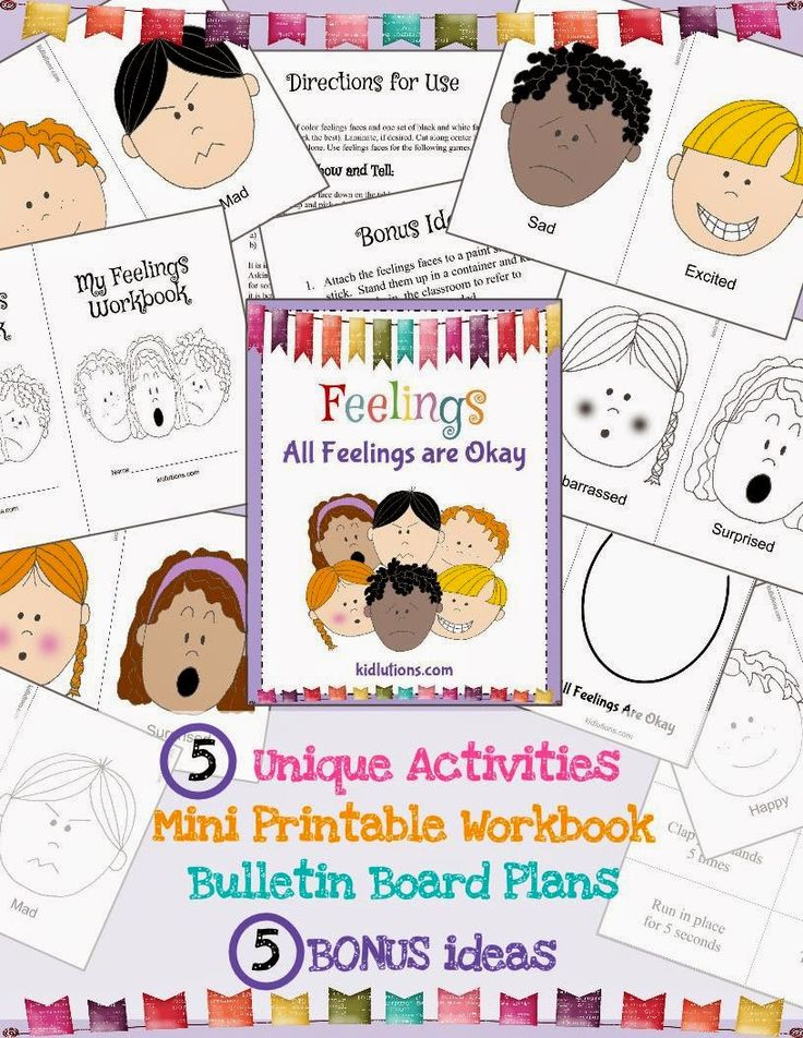 A world-class, activities-based curriculum to help kids deal with #feelings: Feelings Show and Tell