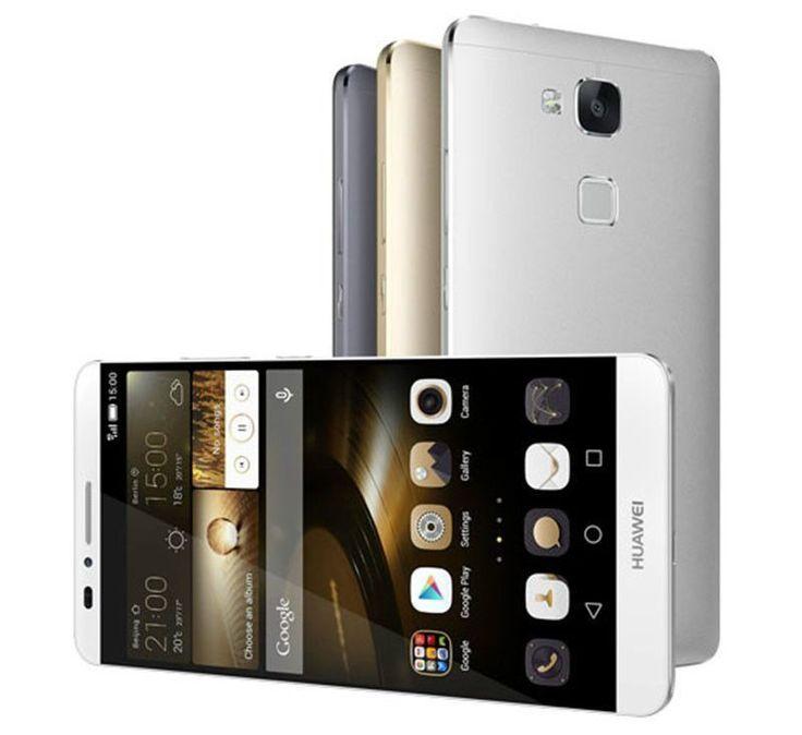 "Huawei Ascend Mate 7 Octa Core 16GB Silver (Unlocked) Smartphone 6"" FHD 4G New #Huawei #Bar $729.00"