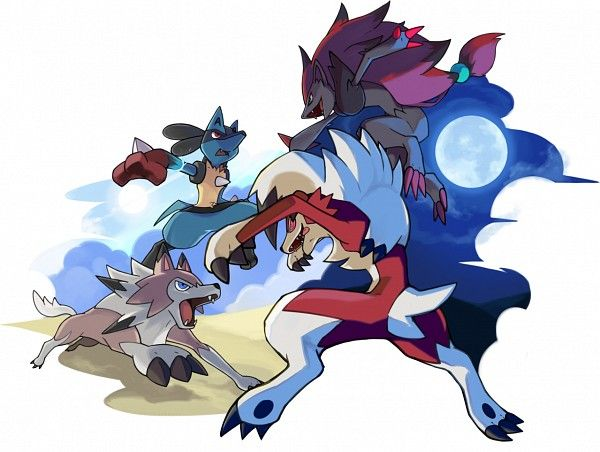 80 best Lycanroc images on Pinterest | Pokemon sun, Drawings and ...