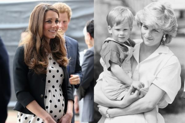 Kate Middleton Księżna Diana i Książe Harry
