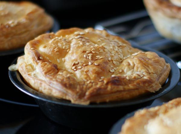Scallop Pies from Annie's Kitchen, Flinders Island. Photo and article by Kerry Davenport for Think Tasmania.