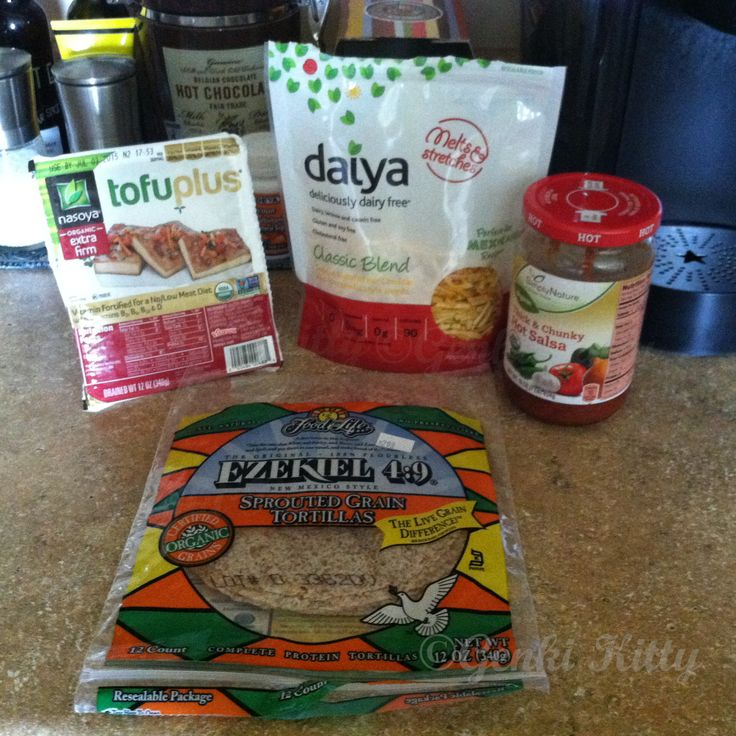 Vegan taco products