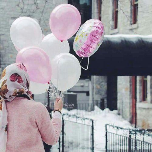 รูปภาพ hijab and pink