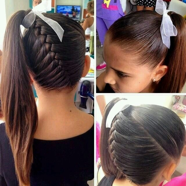 Brilliant 1000 Ideas About Cute Cheerleading Hairstyles On Pinterest Short Hairstyles For Black Women Fulllsitofus