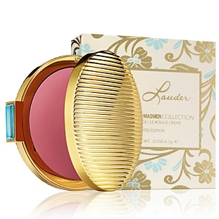 Estee Lauder Mad Men Collection Limited Edition creme rouge in Evening Rose. Vintage style compact. Love it!!!