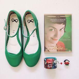 Flats: Tutu Ateliê de sapatilhas #Shoes #Melina Souza #Amelie Poulain