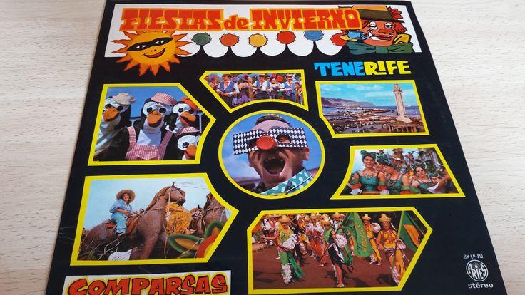 Vinilo Comparsas de Tenerife (Los Rumberos, Los Sudamericanos, Los Cariocas, Los Sambas).