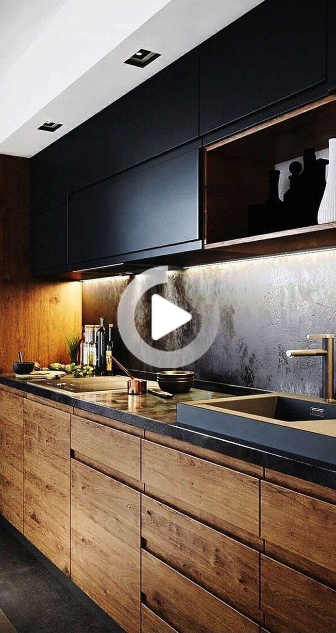 35 Small Kitchen Designs For Remodel Modern Decor With Black W Furniture Interiors Interior Design