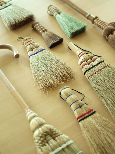 Japanese small brooms