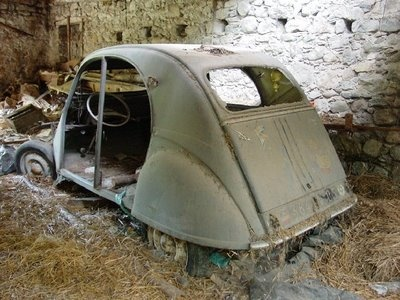 A French barn find - the 2CV