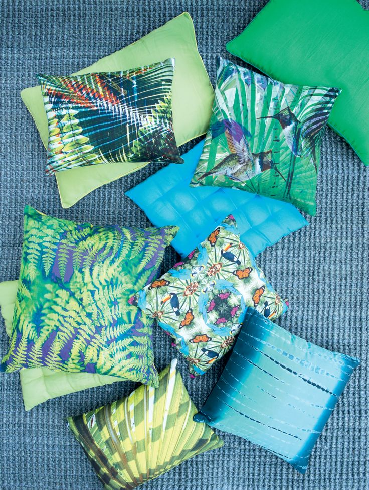 Pfister Decorative Cushions Jungle, Decoration, Outdoor Ideas, Garden, Terrace