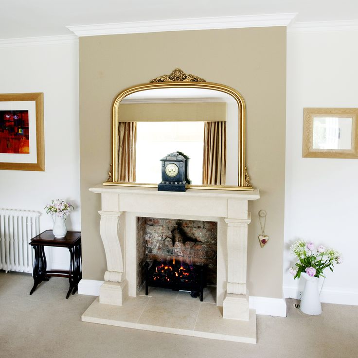 Gold Overmantel Mirror Overmantle MirrorLiving Room