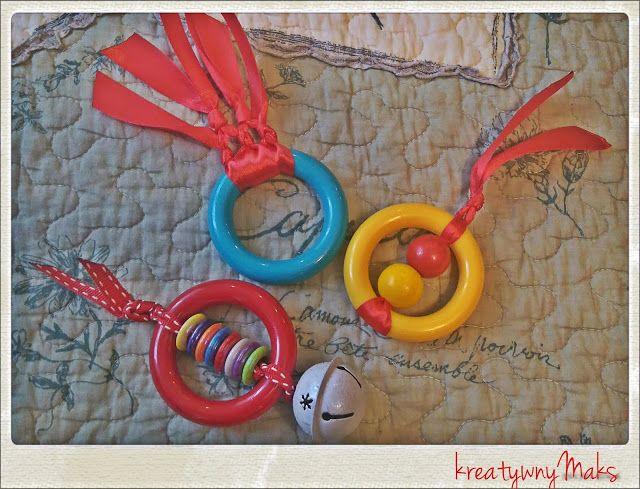 kreatywnyMaks: DYI - Zabawka dla miemowlaka ( po 3 miesiącu )