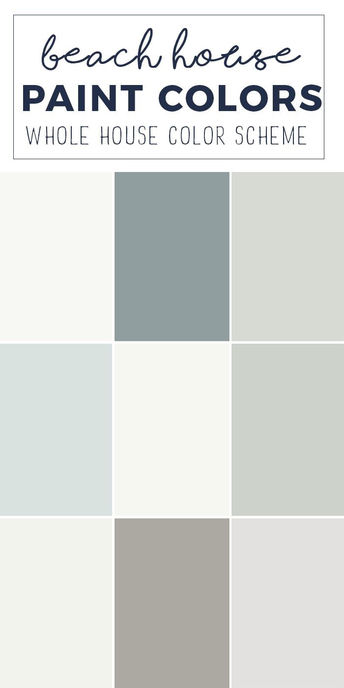 Best 25 coastal color palettes ideas on pinterest coastal colors coastal paint and interior - Beach house paint colors interior ...