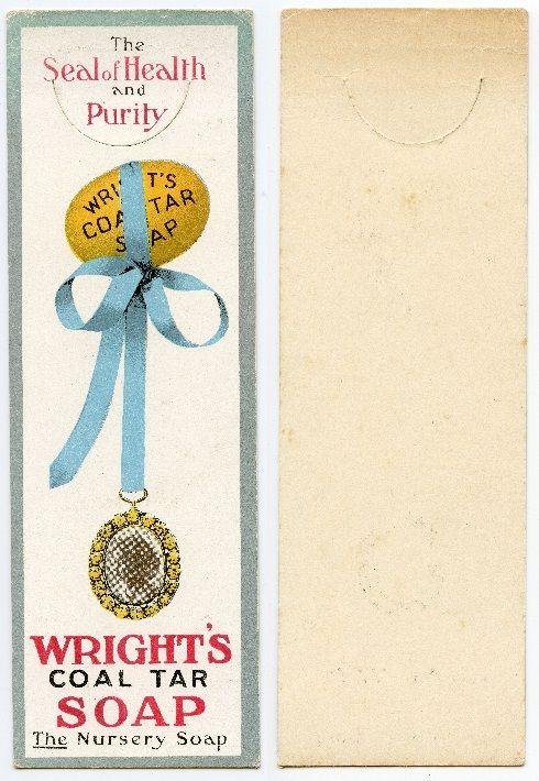 Wright's Coal Tar Soap c1910
