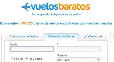 VuelosBaratos.es: Ofertas de vuelos | Datos Vuelos - viajar barato online