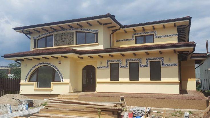 Constructii case cu structura de zidarie - cum am construit casa de la C...