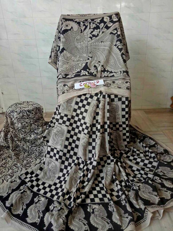 Kalamkari cotton sarees 96