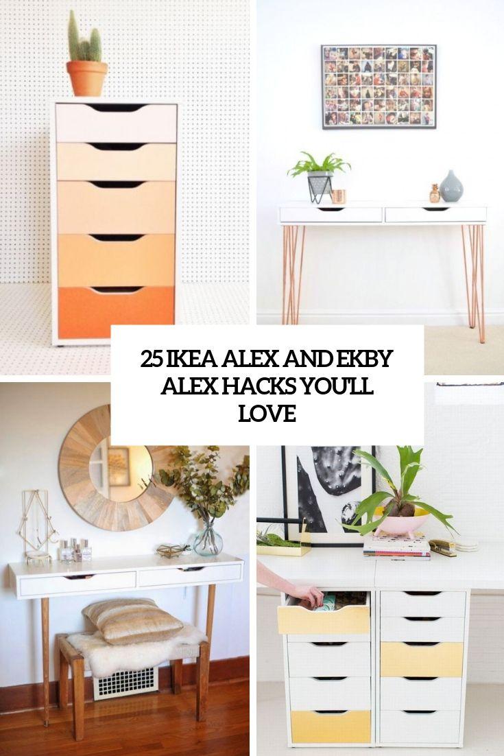 25 Ikea Alex And Ekby Alex Hacks Youll Love Ikea Alex Ikea Alex Drawers Ikea